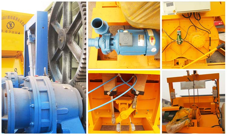 Hot Sale Concrete Mixers, Concrete Mixer for Sale, JS Concrete Mixer parts