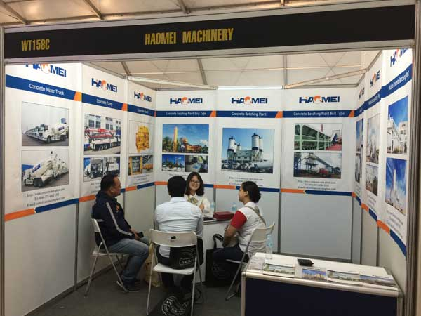 haomei philippines construct 2016 Exhibition